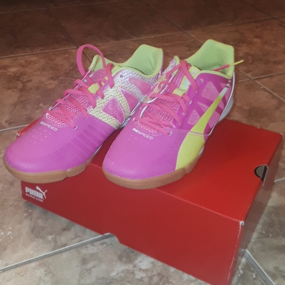 Puma Shoes | Hot Pink Lime Green